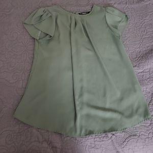 Light green casual dress shirt